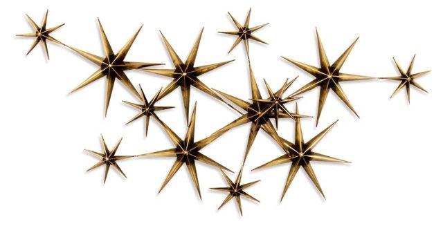 C. Jeré Evening Stars, Brass/Steel