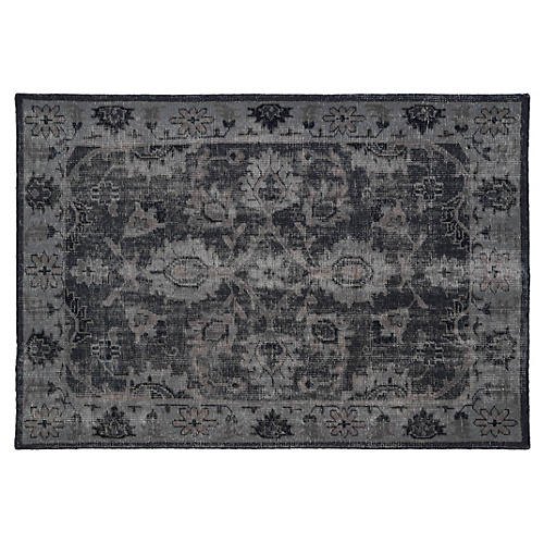 Mabel Rug, Black/Multi