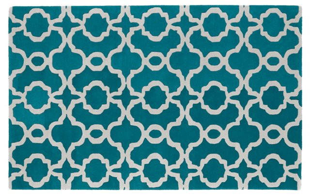 Sawyer Rug, Teal