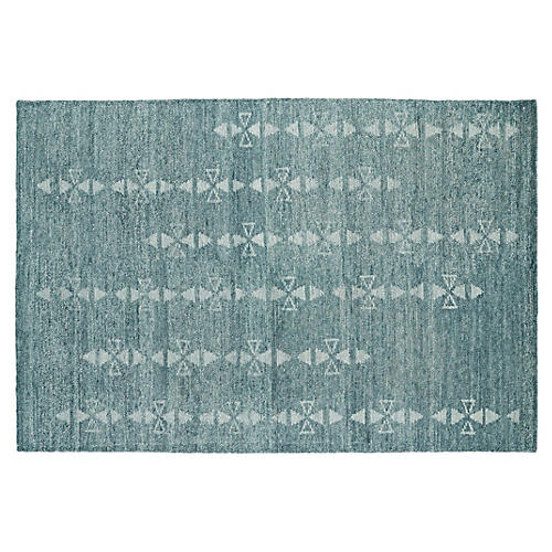 Brandon Rug, Ice Blue