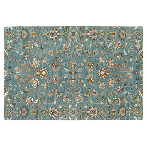 Maeve Rug, Turquoise