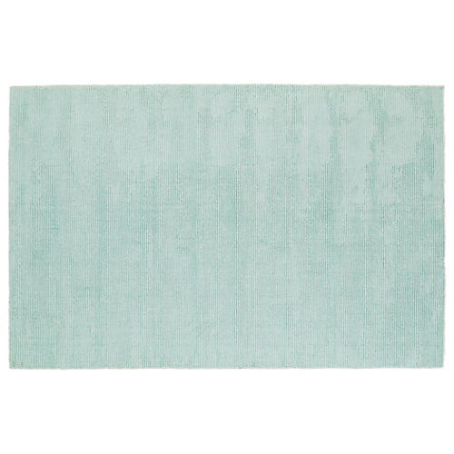 Jamesport Rug, Mint/Ivory