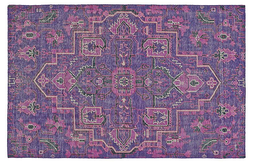 Tacia Hand-Knotted Rug, Purple