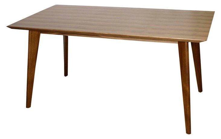 "Milano 63"" Dining Table, Walnut"