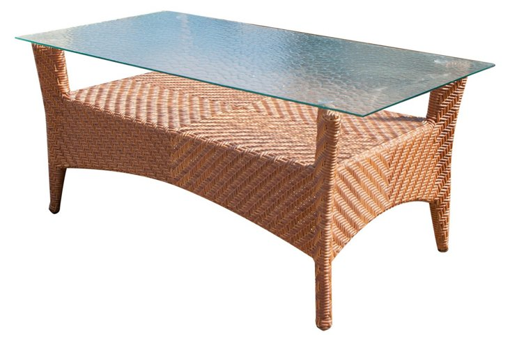 "Islander 41"" Coffee Table, Natural"