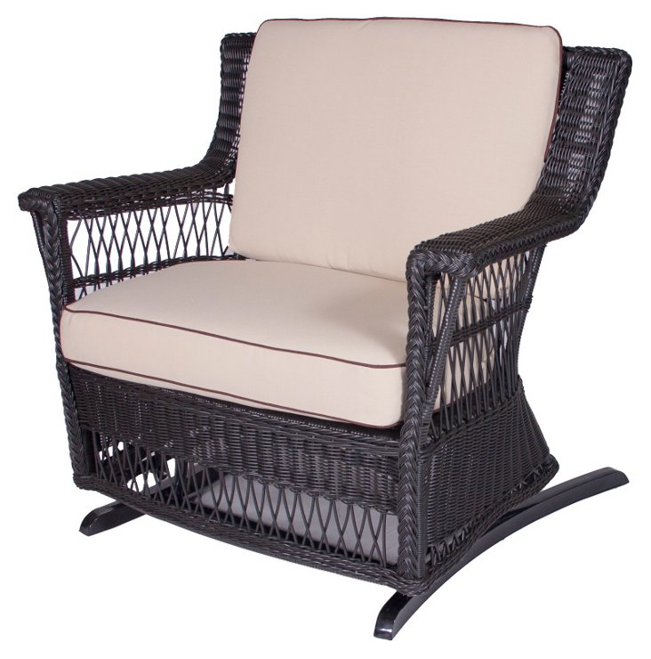 Legacy Outdoor Glider and a Half, Black