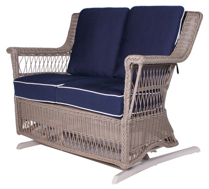 Legacy Outdoor Double Glider, Gray