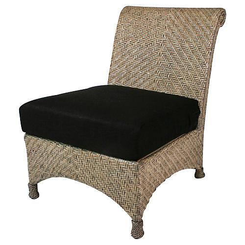 Slipper Chair, White