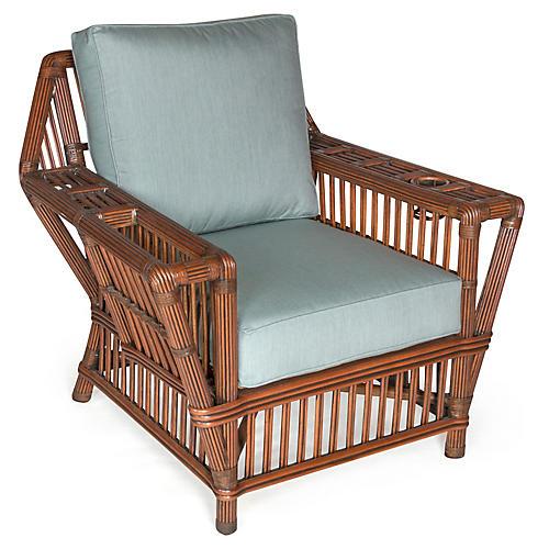 Williamsburg Club Chair, Spa