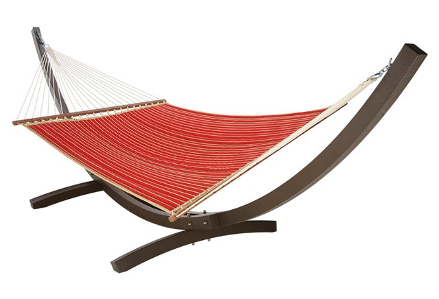 Quilted Hammock, Crimson (w/out Stand)