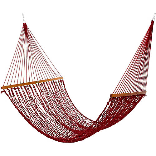 Garnet All Weather Rope Hammock, Large
