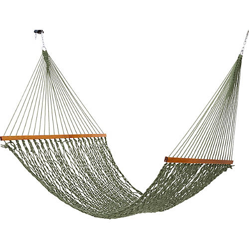 Meadow All Weather Rope Hammock, Large
