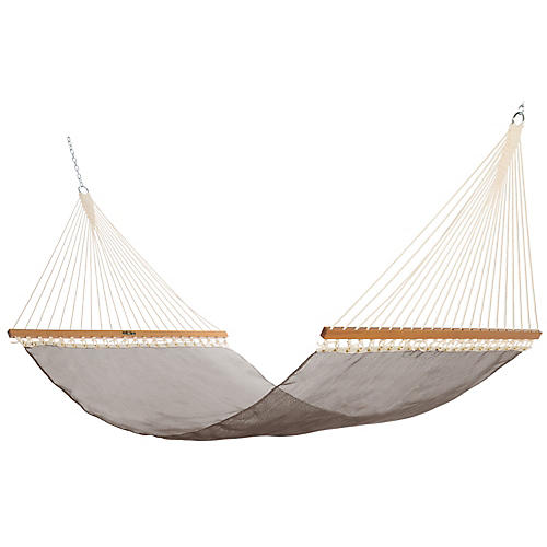 Pool-Side Hammock, Bronze Sunbrella