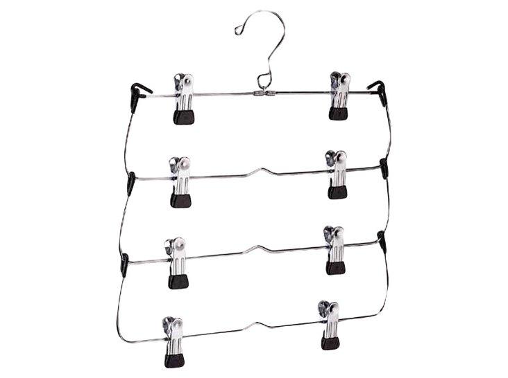 4-Tier Foldup Skirt/Slack Hanger