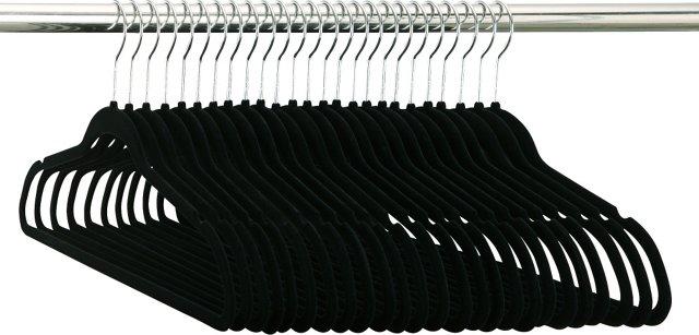 S/50 Flock Hangers, Black