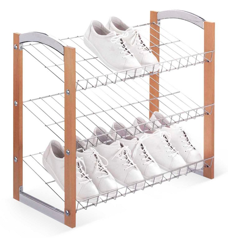 3-Tier Shoe Shelf
