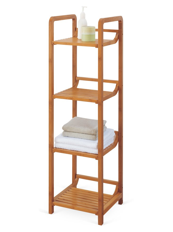 4-Tier Bamboo Tower