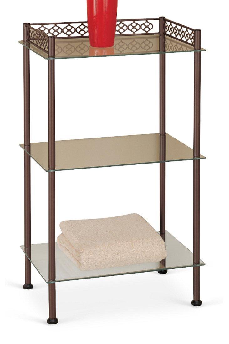 3-Tier Metal Shelf