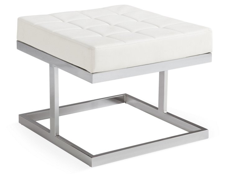 **DiscMortiment Bench, White