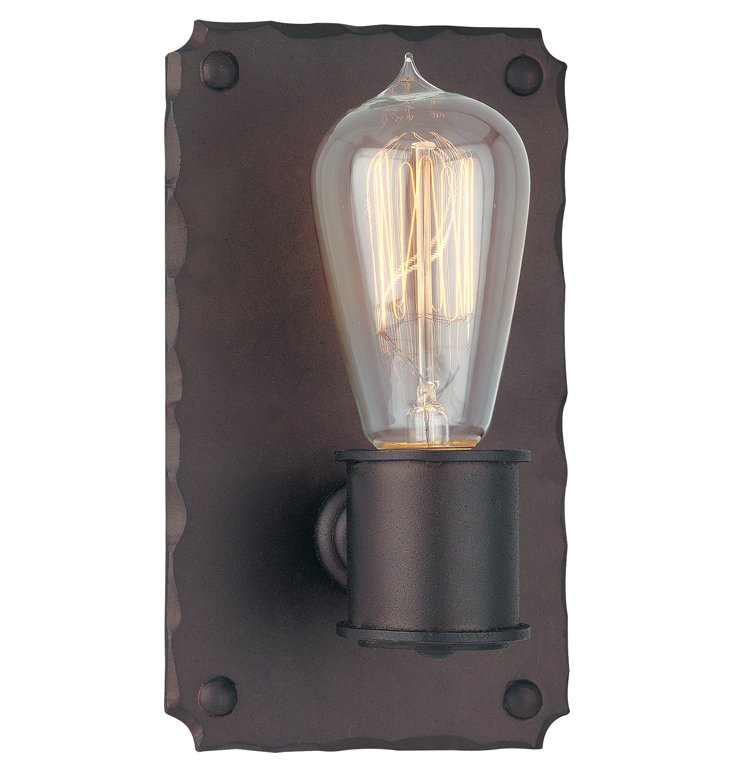 Jackson 1-Light Wall Sconce, Copper