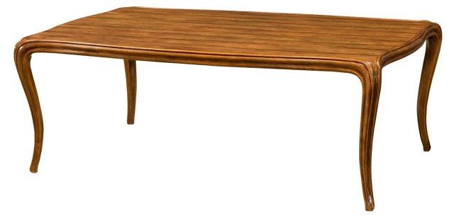 "Cascade 52"" Coffee Table, Caramel"