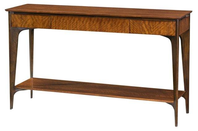 "Razor 60"" Console Table, Russet"