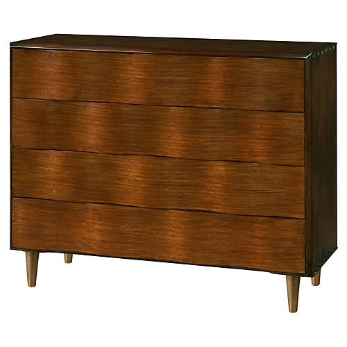"Low Weave 48"" Dresser, Toffee/Sepia"