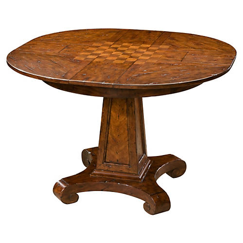 """Cottage 44"""" Game Table, Mahogany"""