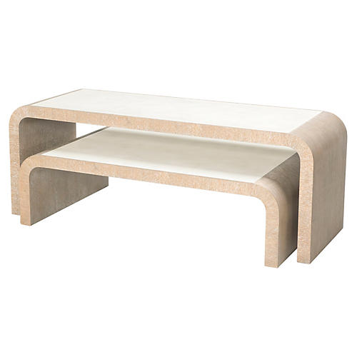Hillhurst Nesting Coffee Tables, Natural