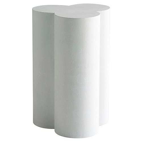 Morse Side Table, Chalk White