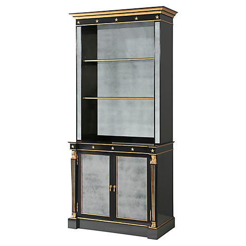 Jansen Cabinet, Black/Gold