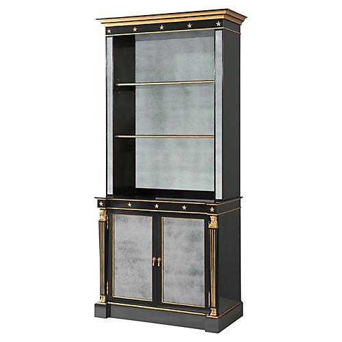 Jansen Cabinet, Black/Gold