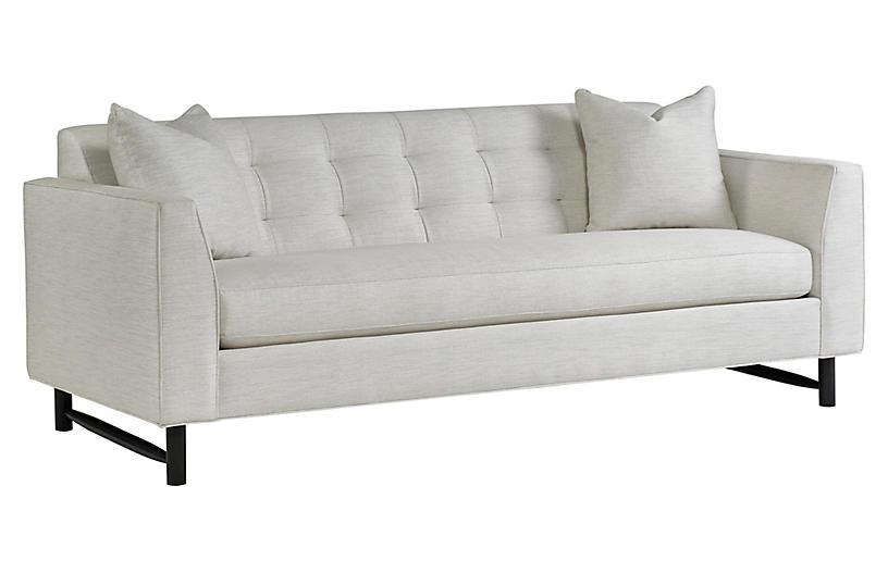 Keaton Sofa, Pearl