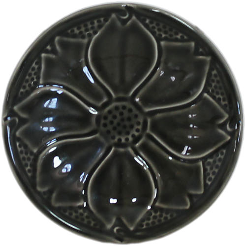 S/2 Reliefes Coasters, Black