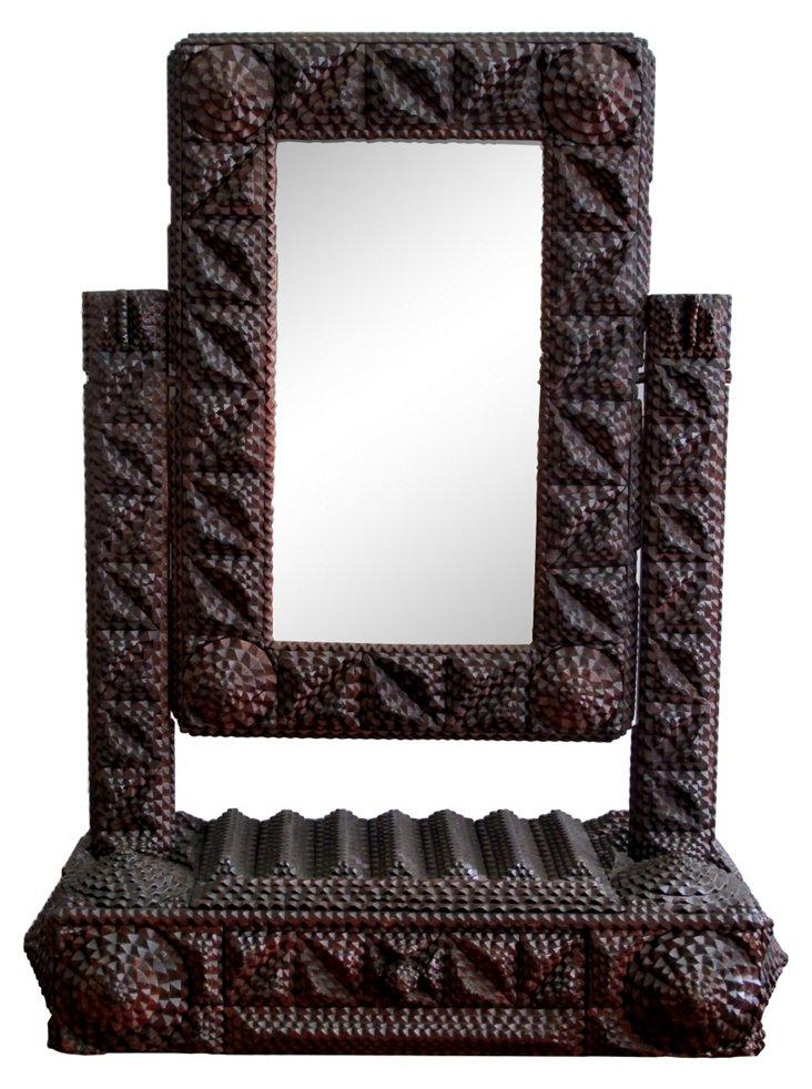 Single Drawer Dressing Mirror