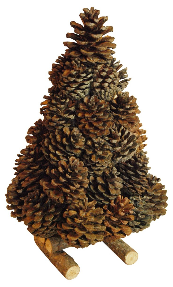 "12"" Pinecone Tree"
