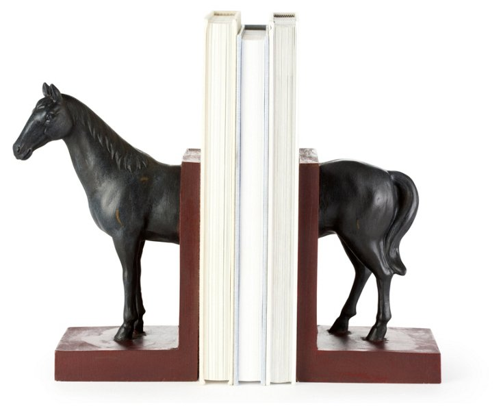 Pair of Horse Bookends