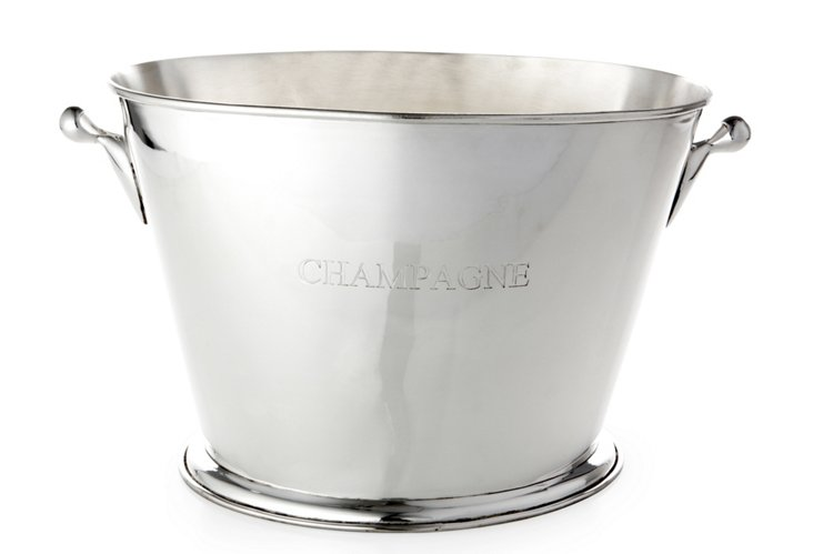 Champagne Cooler, Silver