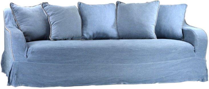 """Marguerite 90"""" Sofa"""