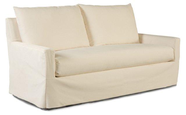 Elena Outdoor Sofa, Cream