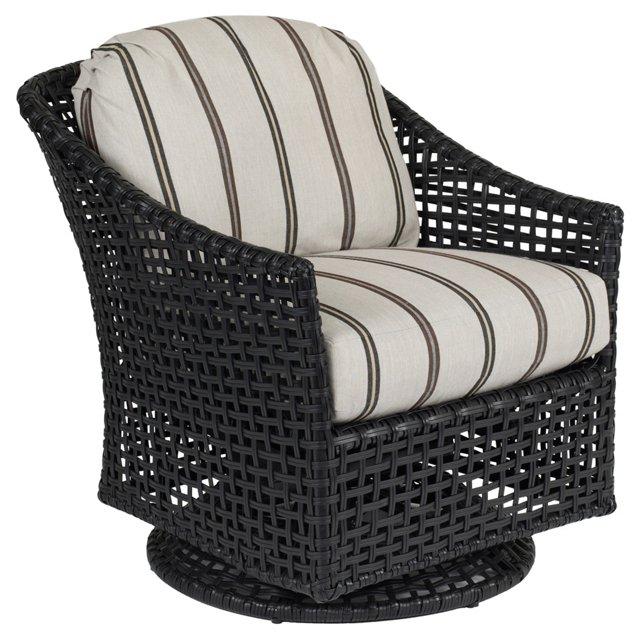 Platinum Swivel Glider Lounge Chair