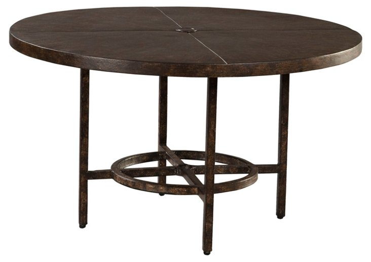Ind. Conversation Table, Straight Base