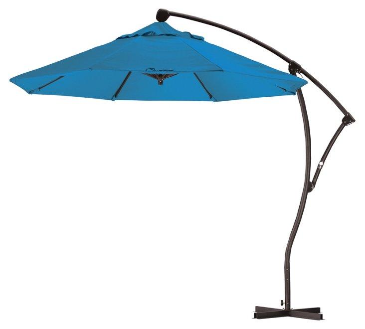 9' Cantilever Umbrella, Pacific Blue
