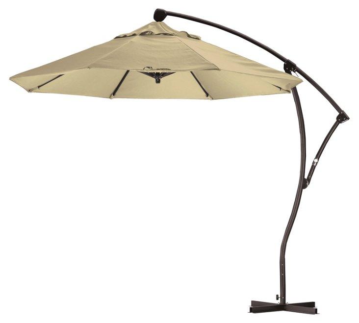 9' Cantilever Umbrella, Antique Beige