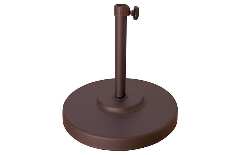 Patio Umbrella Stand, Bronze