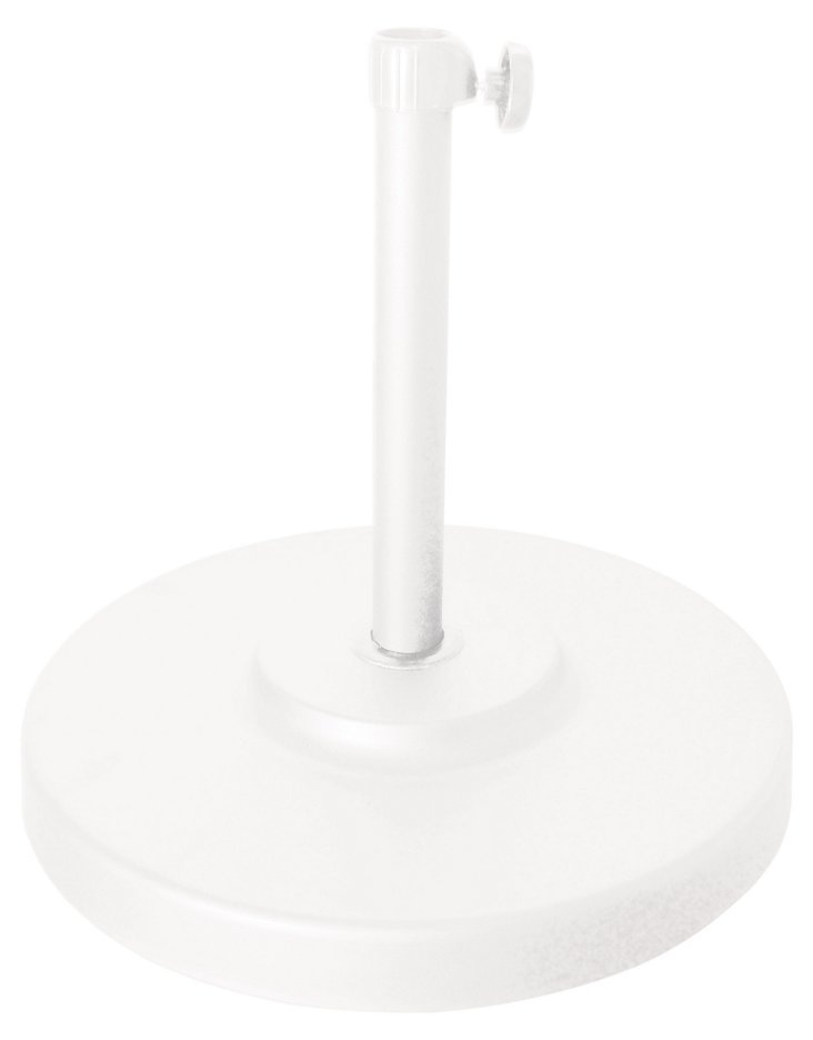 Umbrella Base, White