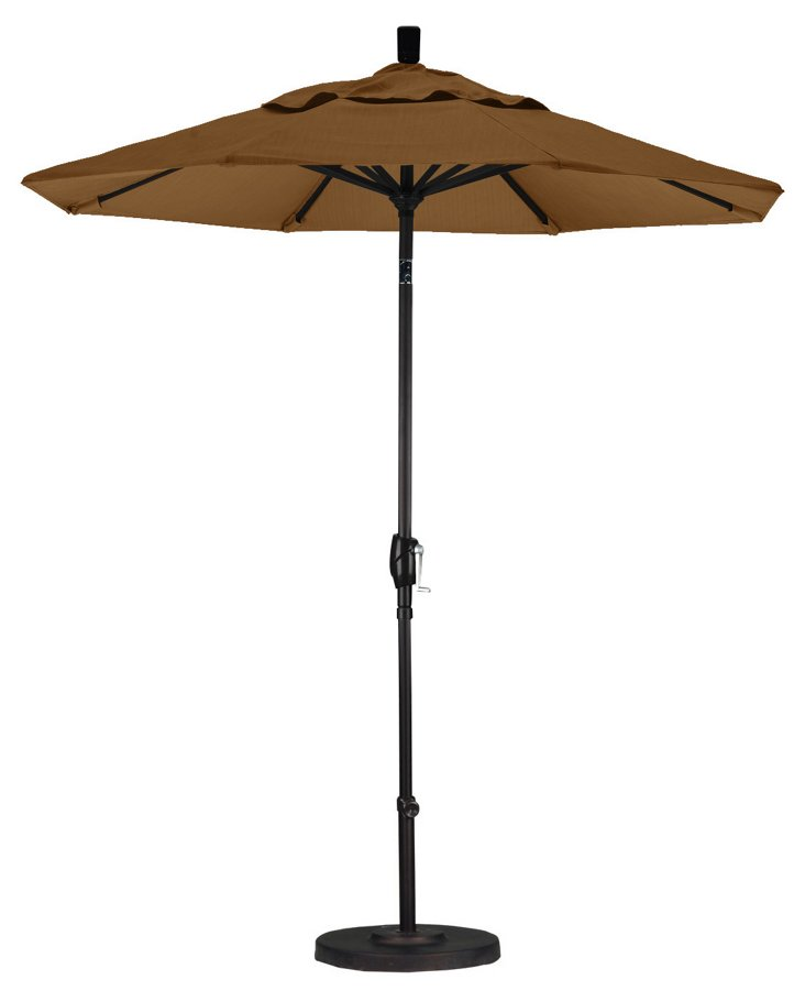 7.5' Market Umbrella, Straw
