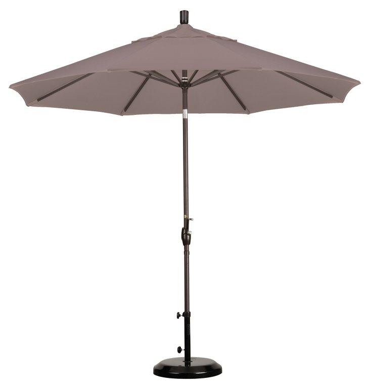 9' Market Umbrella, Bronze/Champagne