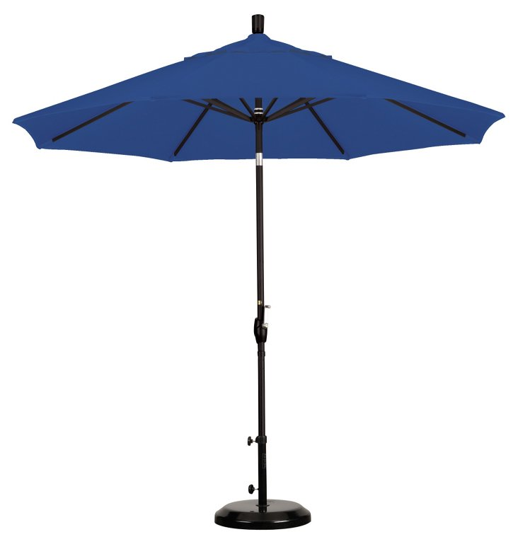 9' Market Umbrella, Royal Blue