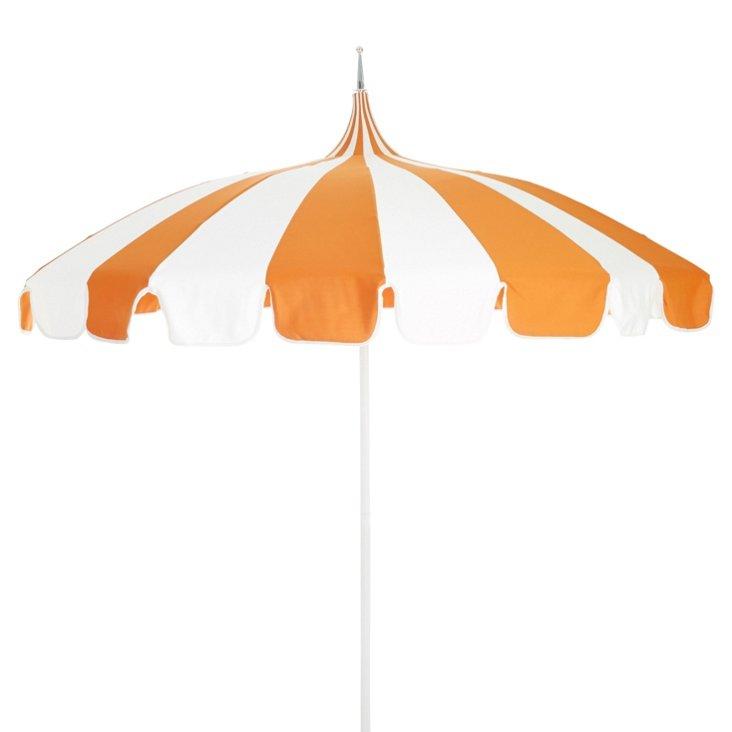 Pagoda Patio Umbrella, Orange